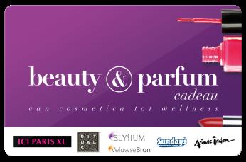 Beauty en Parfum cadeaukaart